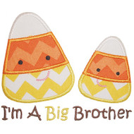 Sibling Candy Corn