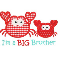 Sibling Crab Applique