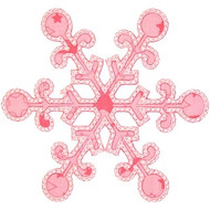 Snowflake 5 Applique