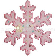 Snowflake 3 Applique