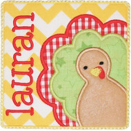 Turkey Patch Applique