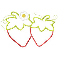 Strawberries Applique