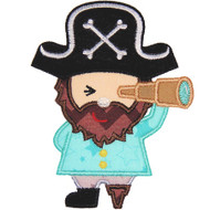 Pirate Applique