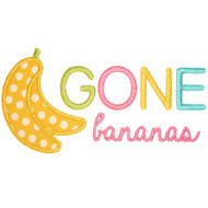 Gone Bananas Applique