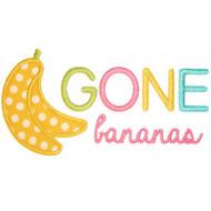 Gone Bananas Applique