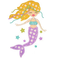 Mermaid 2 Applique