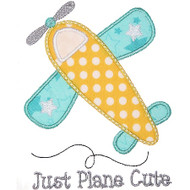 Airplane 2 Applique
