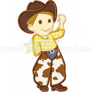 Cowboy Applique