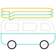Surf Van Applique