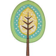 Woodland Tree Applique