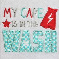 Cape in the Wash Applique