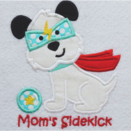 Puppy Sidekick Applique