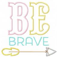 Be Brave Applique