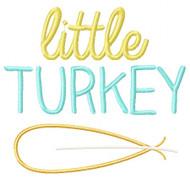 Little Turkey Applique