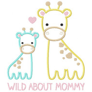 Wild About Mommy Giraffe