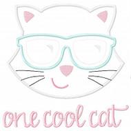 One Cool Cat Applique