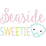 Seaside Sweetie Applique
