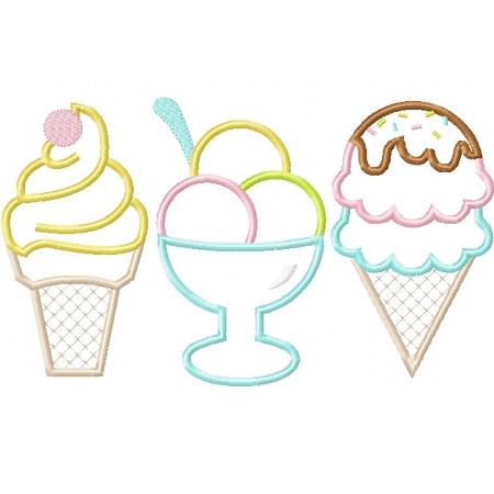 Ice creams applique planet applique inc image 1 ccuart Images