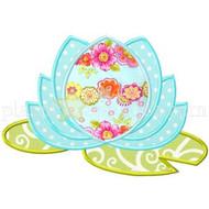Water Lotus Applique