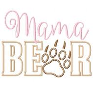 Mama Bear Applique