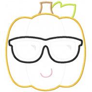 Cool Pumpkin Applique