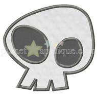 Wacky Skull Applique