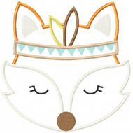 Indian Fox Applique
