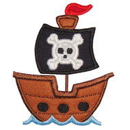 Pirate Ship 2 Applique