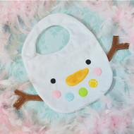 ITH Snowman Baby Bib