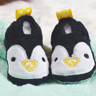 ITH Penguin Baby Booties