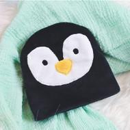 ITH Penguin Baby Beanie