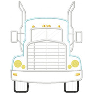 Semi Truck Applique