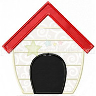 Dog House Applique