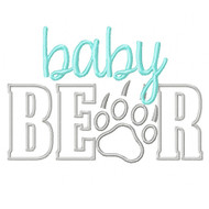 BabyBear Applique