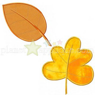Fall Leaf Collection Applique