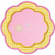 Petal Frame Applique
