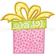 Gift Box Applique