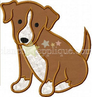Beagle Puppy Applique