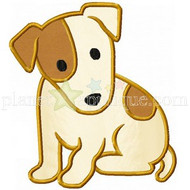 Jack Russell Terrier Applique