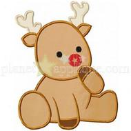 Baby Reindeer Applique