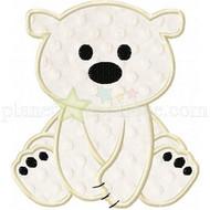 Baby Polar Bear Applique