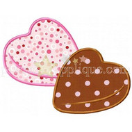Candy Hearts Applique