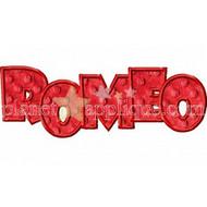Romeo Valentine Applique