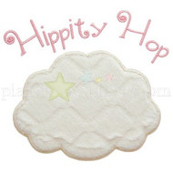 Hip Hop Bunny Tail Applique