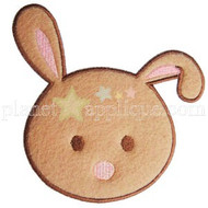 Bunny Head Applique