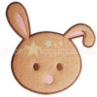 Bunny Head Applique