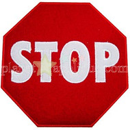 Stop Sign Applique