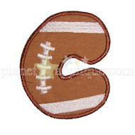 Football Applique Alphabet