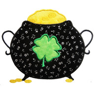 Pot of Gold Applique