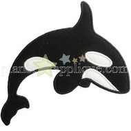 Killer Whale Applique